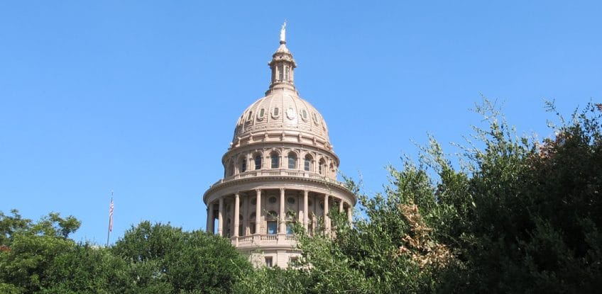 87th Texas Legislative Session Begins Jan. 12